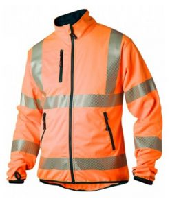 Jacka-Softshell-Varsel-Orange